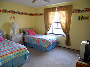 Twin Beach Theme Room